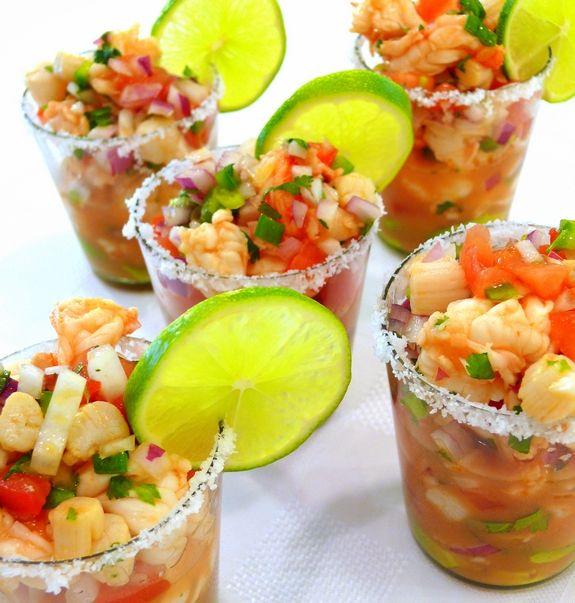 Shrimp & Scallop Ceviche