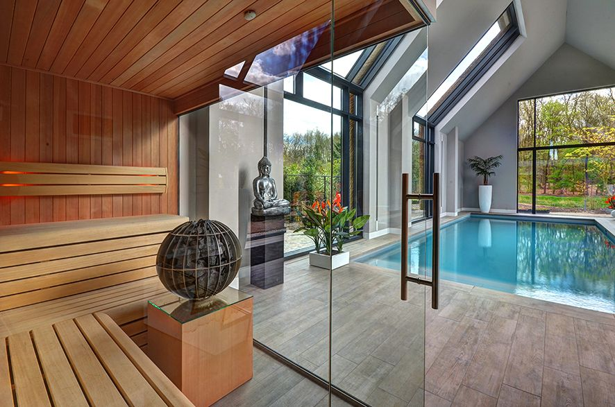 Sauna by vsb wellness home pools binnenzwembaden wellness