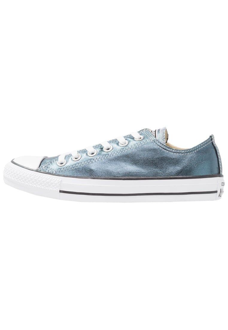 Converse CHUCK TAYLOR ALL STAR METALLIC CANVAS - Zapatillas blue fir/white/black MHSEL