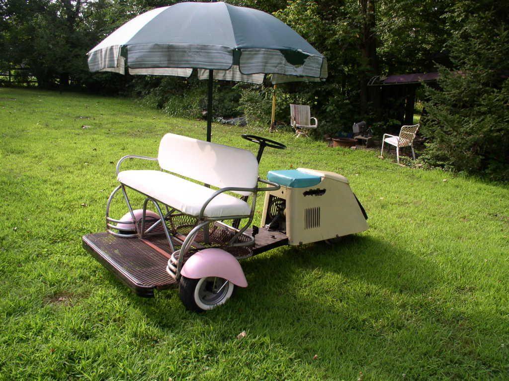 1952 Cushman Golf Buggy Vintage Golf Custom Golf Carts Golf Buggy