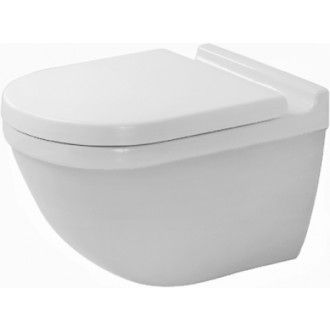 Duravit 222509 Starck 3 Toilet Wall Hung Mounted White 28000