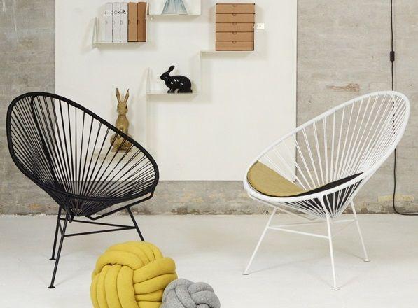 fauteuil acapulco. Black Bedroom Furniture Sets. Home Design Ideas