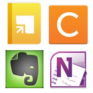 Springpad vs Catch vs Evernote vs OneNote Which Is Best