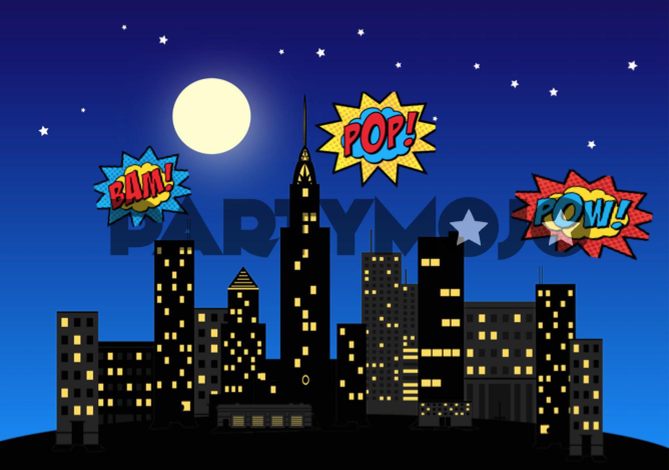 superhero scene setter - Google Search | Back to school ...