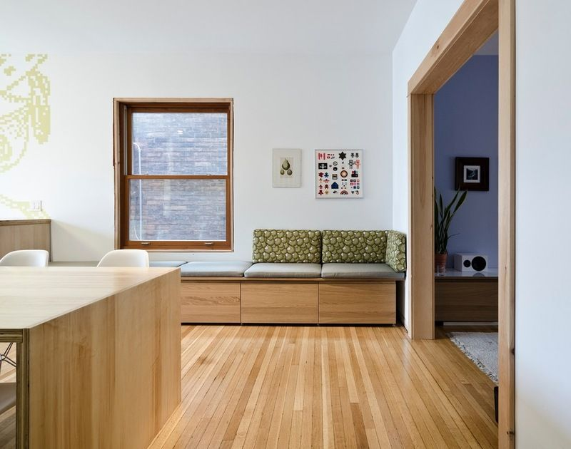 Banquette Seating Made From Ikea Cabinets Looks Good And Provides