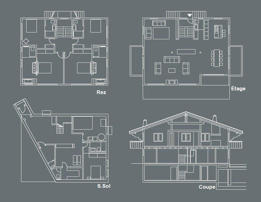 Chalet In Gstaad By Ardesia Design 37 Chalet Interior Chalet Floor Plan Design