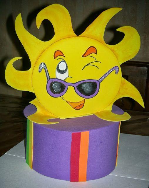 Arte Gabrielle  DISFRAZ PRIMAVERAL - Sombrero y Corbata multicolor para  festejar la primavera d8ce835dd5c