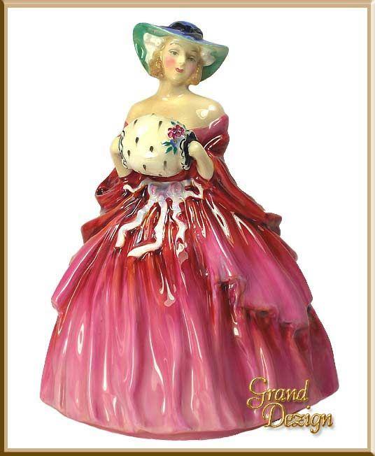 Royal Doulton Figurine Genevieve HN1962 www.GrandDezign.com