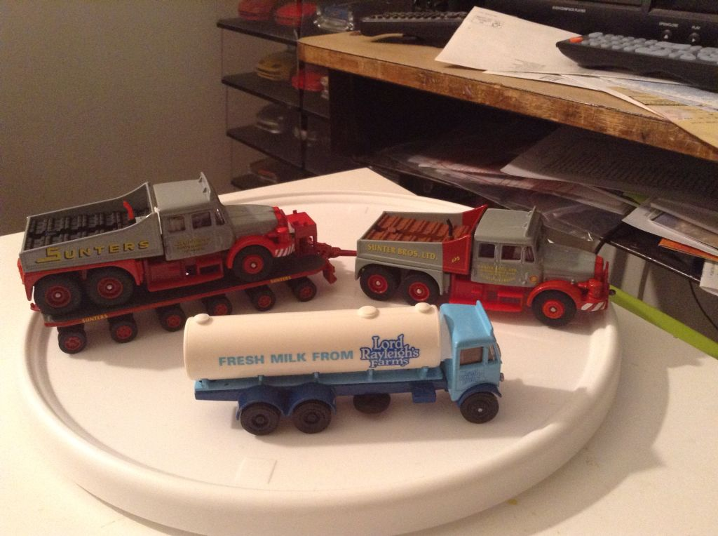 Scammell contractors & aec mammoth tanker