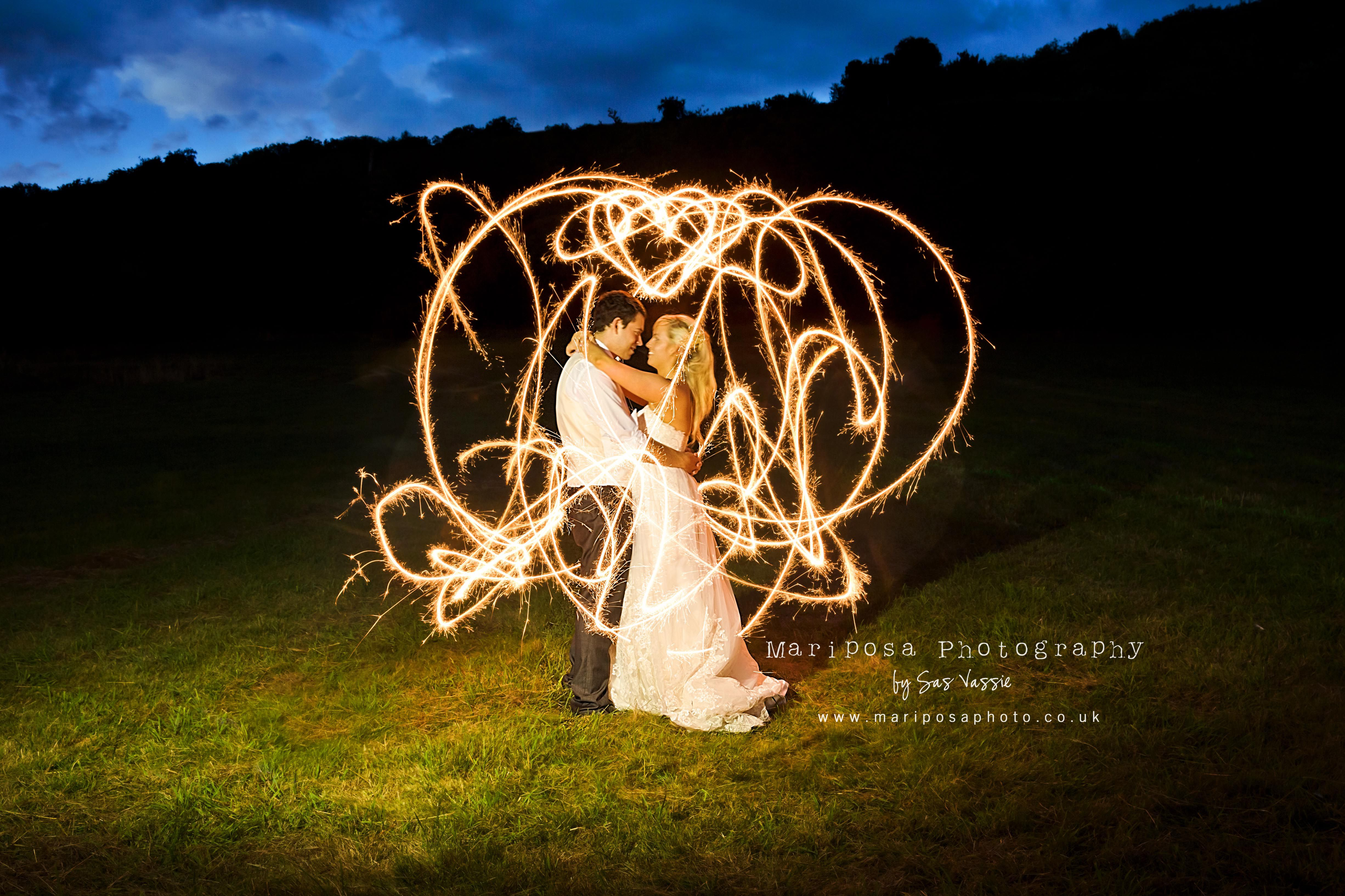 Painting with light...   Amber for Light Painting Photography Wedding  146hul