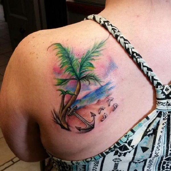 Tiki Tattoo, Tattoos, Shoulder