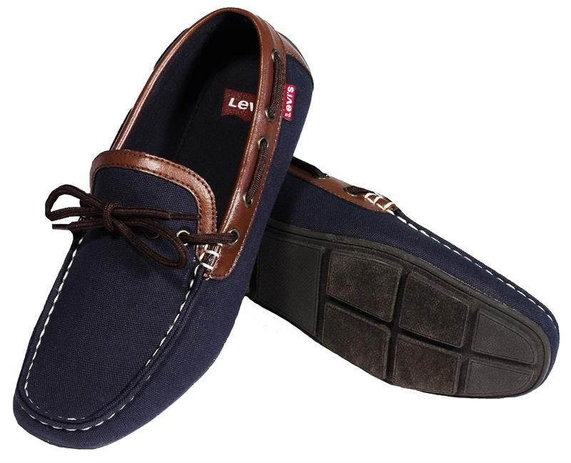Levi's Benson Casual Shoe Navy/Brown