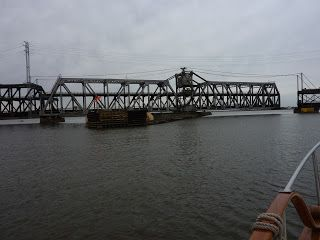 Travels in Paradise. Double decker bridge near Keokuk, IA