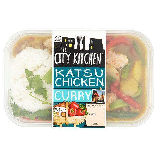 The City Kitchen Chicken Katsu Curry 385g Groceries