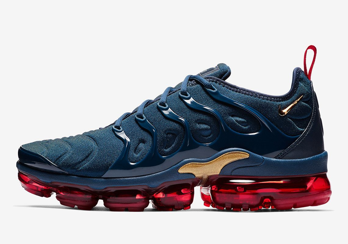 Nike Channels The OG Olympic Colorway Onto The Vapormax Plus