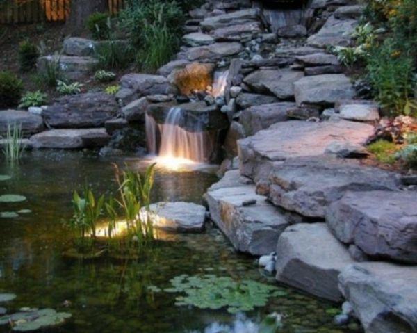 Cascade et fontaine de jardin , 69 déco pour les moments de relaxe - fontaine a eau d interieur