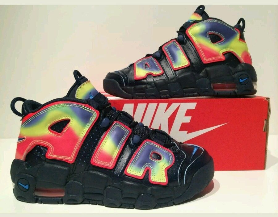 NIKE AIR MORE UPTEMPO QS THERMAL HEAT MAP PACK 847652 400