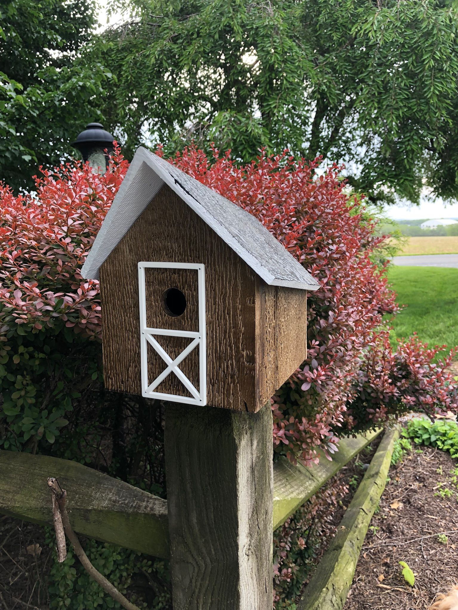 Simple Easy to Clean Birdhouse Birdhouses rustic, Bird