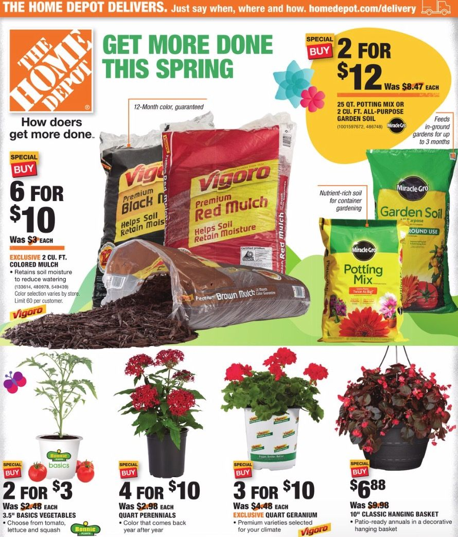 Home Depot Ad (4/2/20 4/15/20) Home depot, Weekly ads