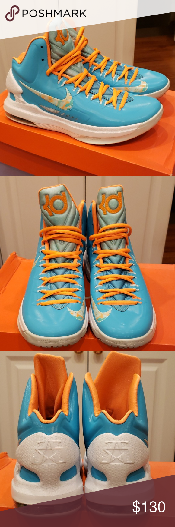 """Nike KD V """"Easter"""" Nike KD V in """"Easter"""" colorway. Size 9 ..."""