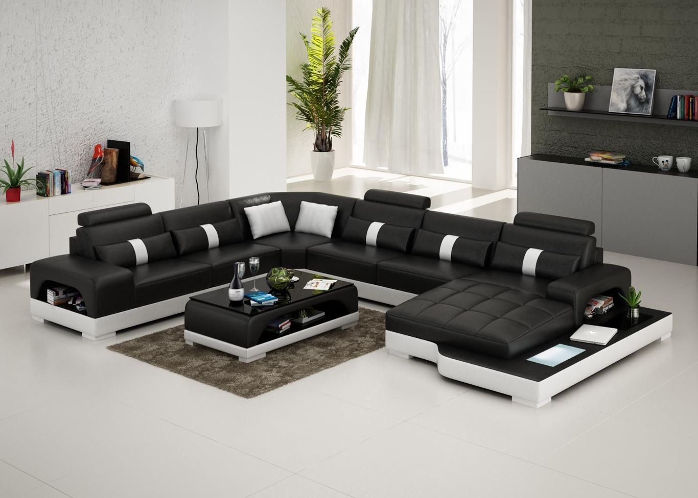 Connie Sectional Sofa Leather Living Room Furniture Fancy Furniture Leather Sectional Leather Living Room Furniture Living Room Sofa Living Room Leather