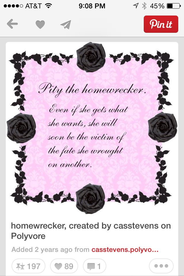 Homewrecker Poemlol Divorce Divorce T Quotes
