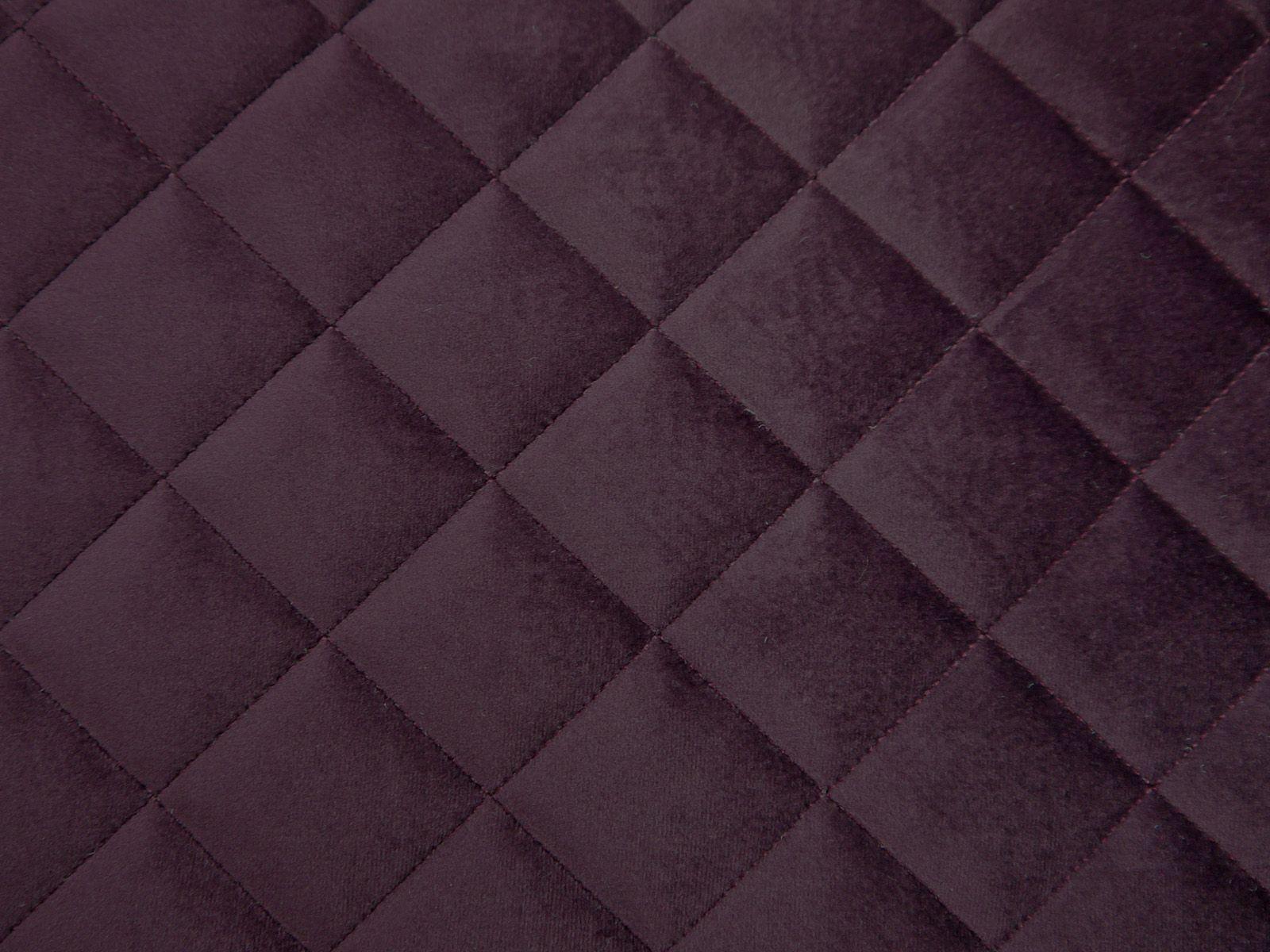 Deep Space Purple Velvet #velvetupholsteryfabric