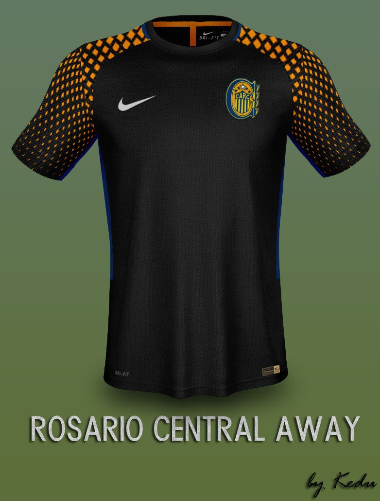 Diseño de Kit Nike Rosario Central Away Fantasay  7c33165f59033
