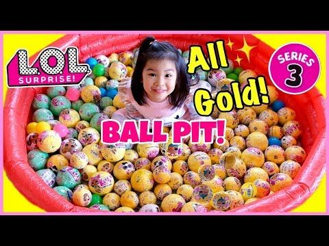 well known half price new products LOL Surprise Confetti Pop BALL PIT! All ULTRA RARE GOLD ...