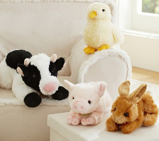 Adopt A Farm Animal Plush Pottery Barn Kids Bb S 2nd Bday