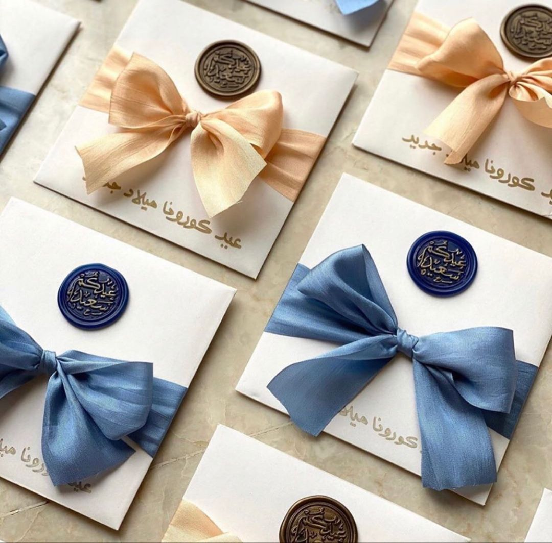 Wax Seal ختم شمعي Gift Wrapping Gifts Wrap