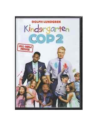 awesome Kindergarten Cop 2 DVD Movie Dolph Lindgren (2016