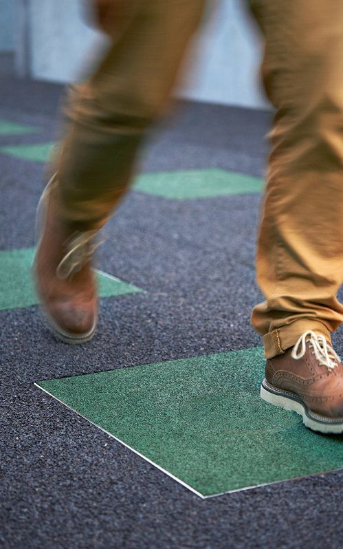 Kids Stomping Feet Generate The Energy For This School Power Walking Energy Solar Heating