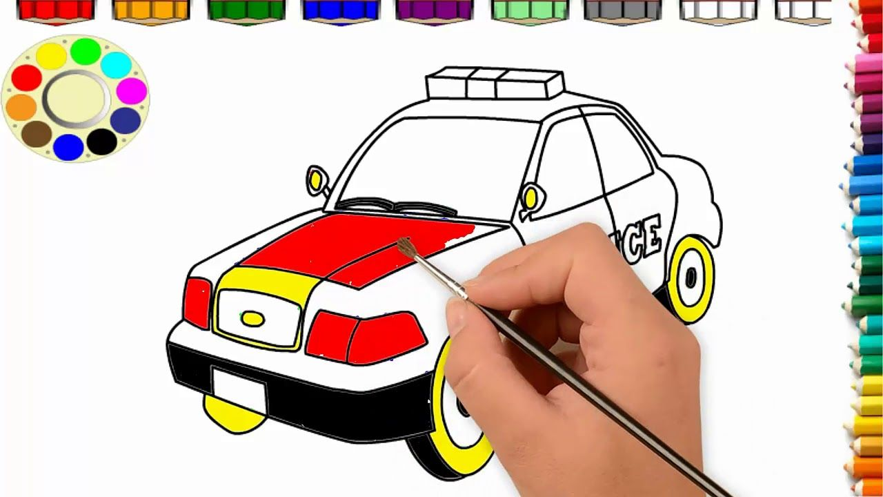 Little Baby Fun Learning Colors for Children with Drawing ...