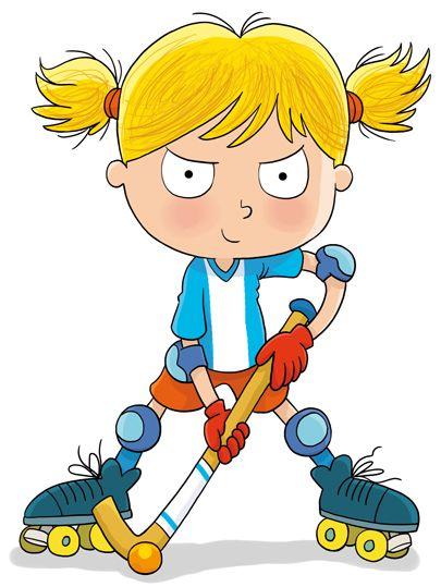 Carlesmartillustration Boys Hockey Cartoon Boy Cartoon People