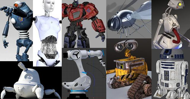 Download 55 best free 3d rigged robot character models  So
