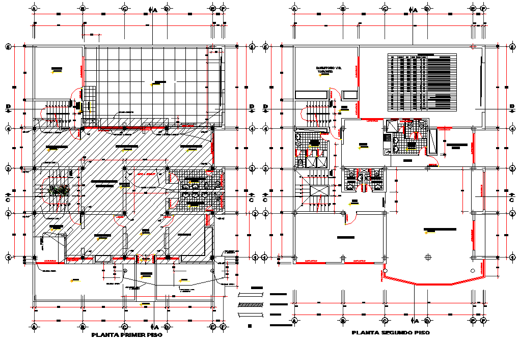 First Floor And Second Floor Office Layout File Architect Planning Design In Em Archi 2020 Cati