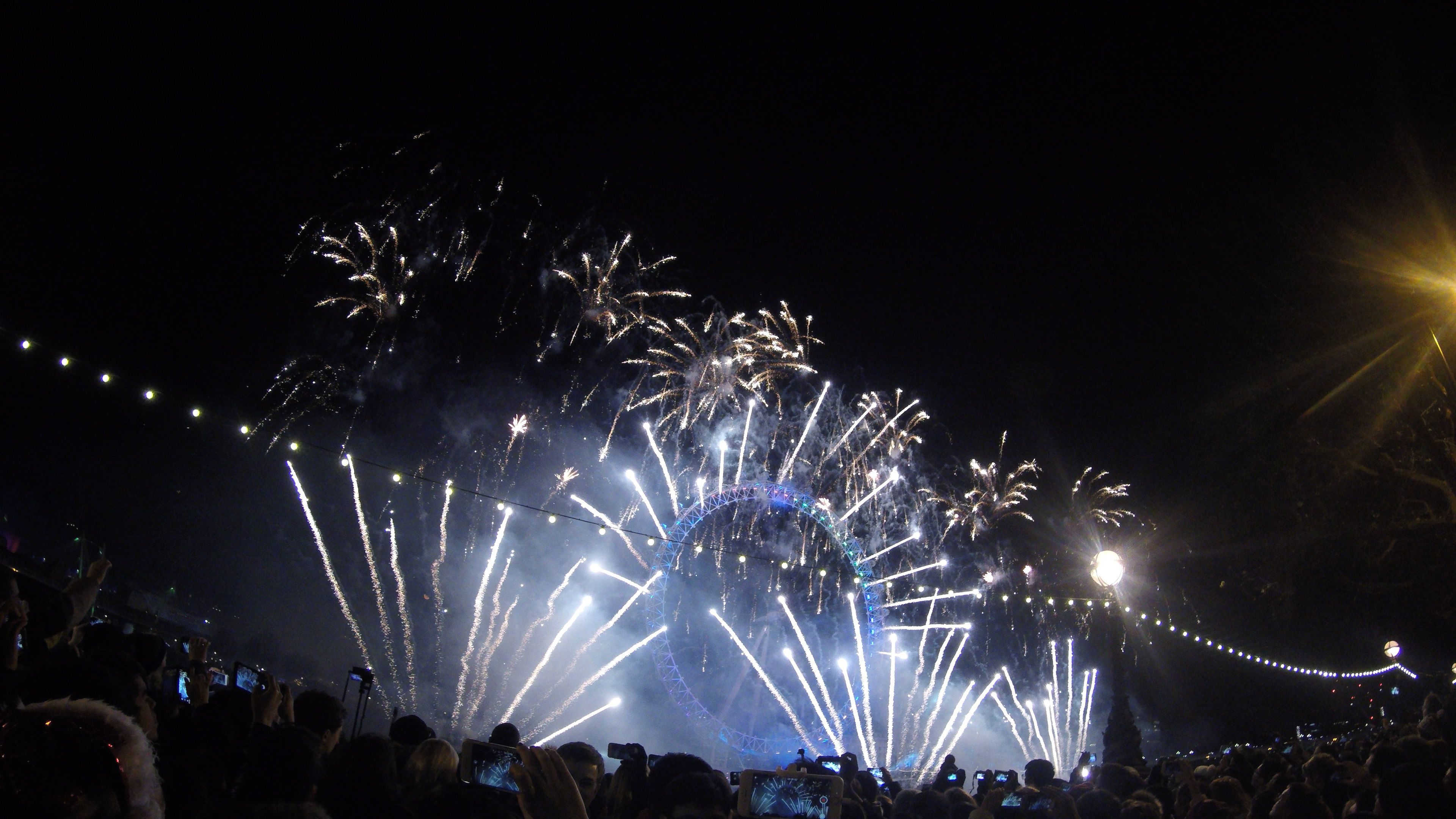 Check! New Years Eve Fireworks in London London