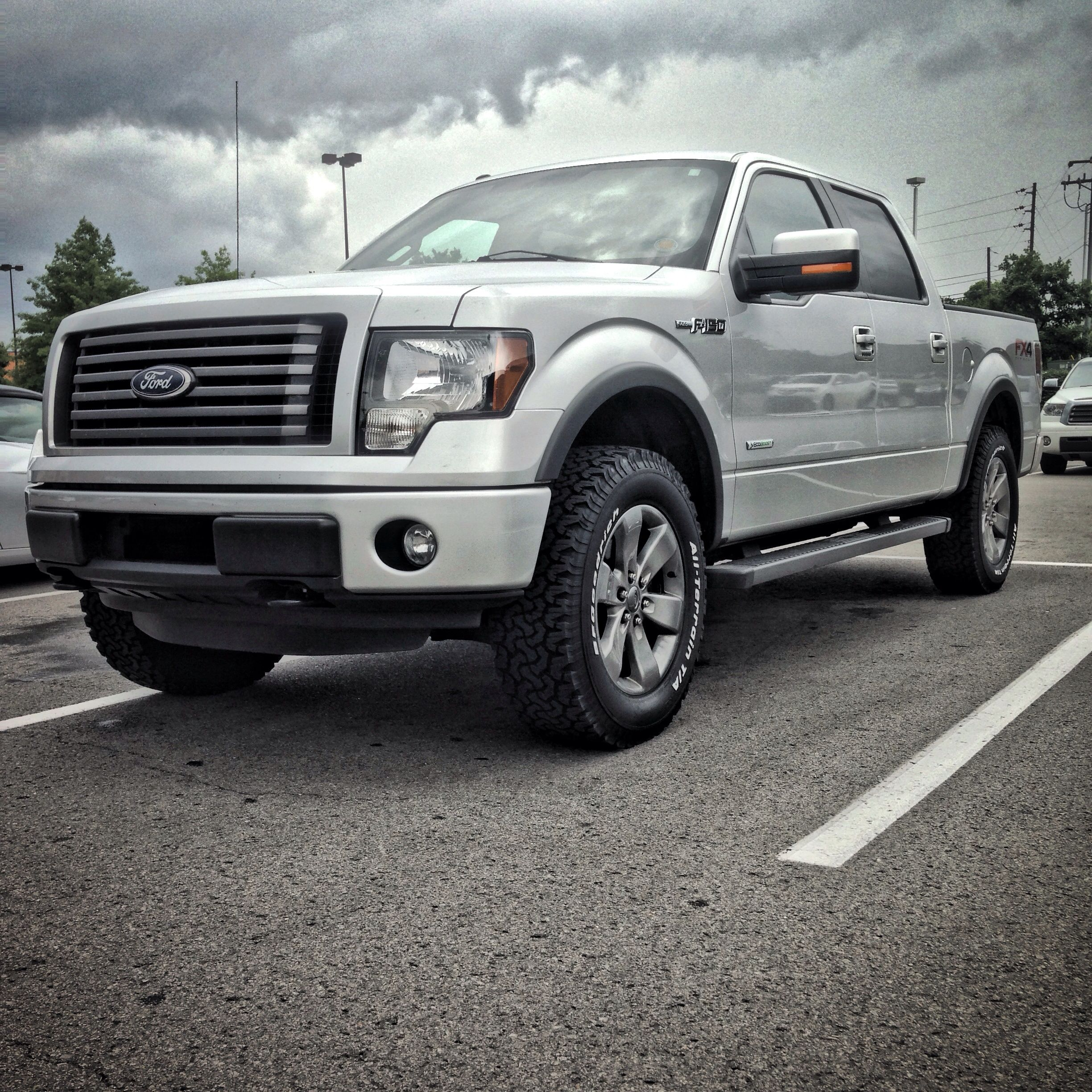 Leveling Kit For Ford F150: Leveled F150 FX4 On 35's