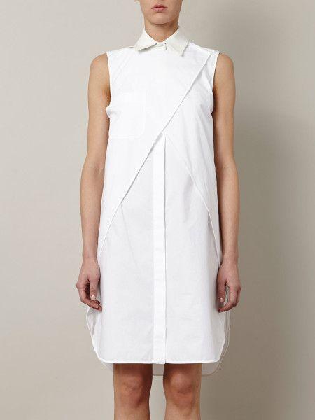 Alexander Wang White Wrap Shirt Dress Wrap Shirt Dress Womens Dresses Alexander Wang Dress
