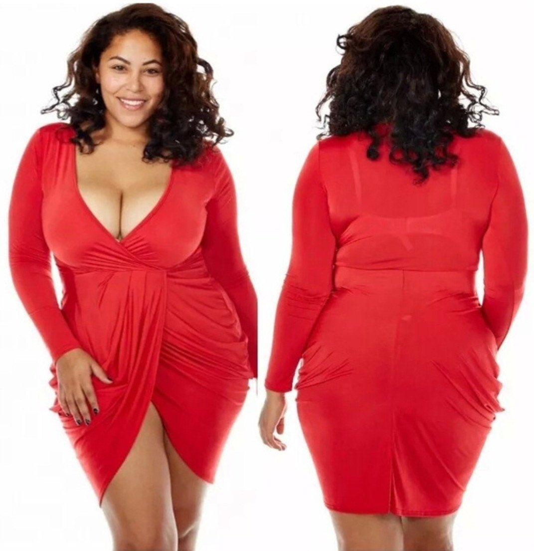 Womens Bodycon Bandage Evening Party Dress Ladies Formal Mini Dress Plus Size