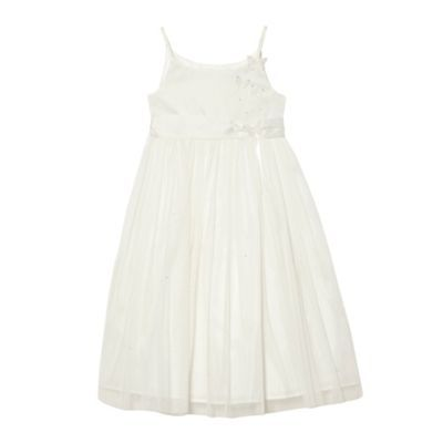 d59ce91734d Tigerlily Girl s ivory butterfly dress- at Debenhams.ie