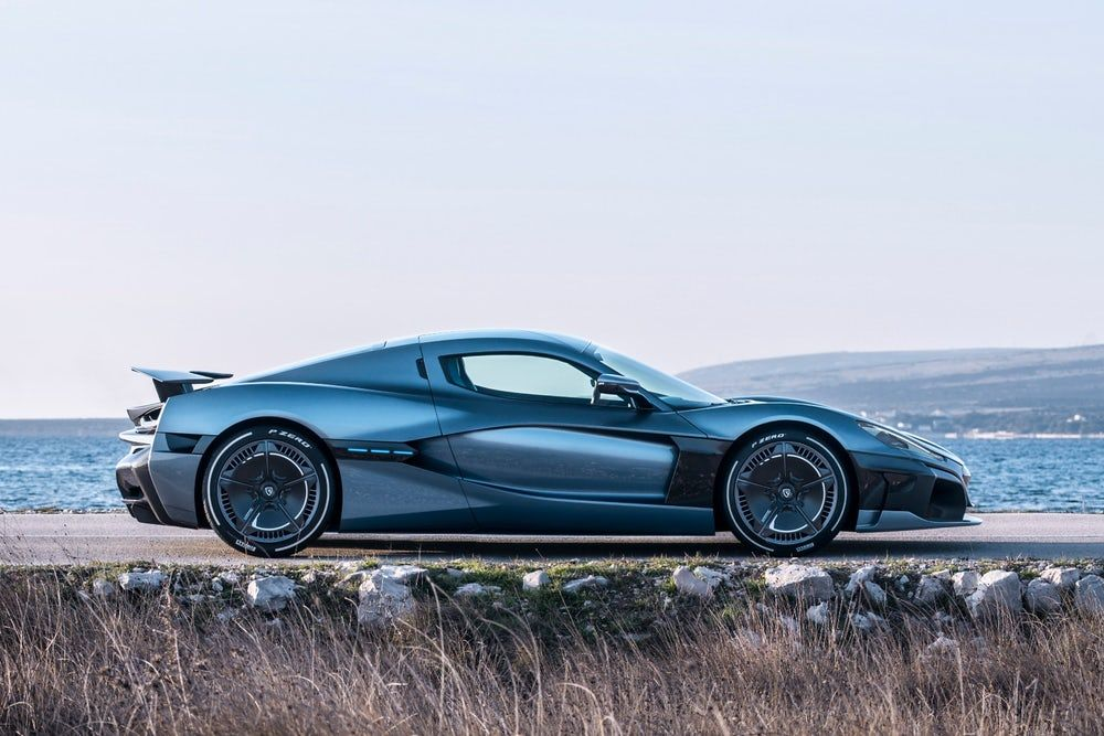 Rimac C Two 1 914 Hp Electric Hypercar Can Drive Itself If You Re Too Scared Concept Cars Porsche Geneva Motor Show