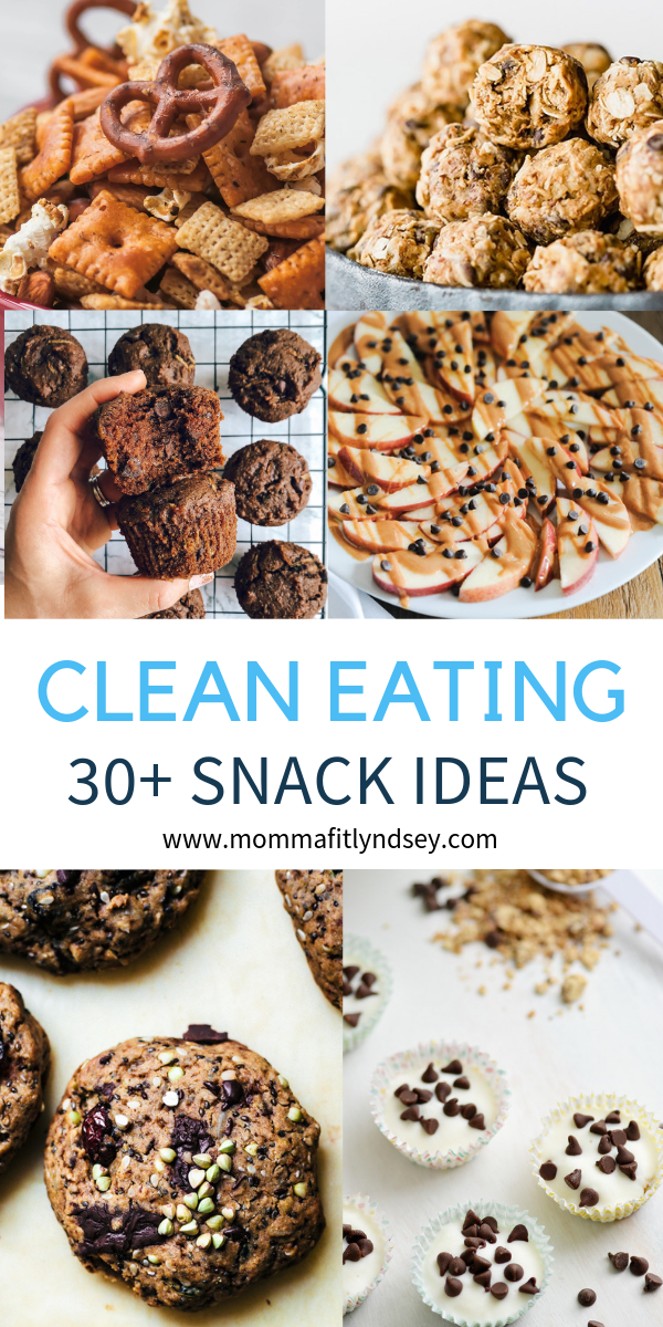 30+ Clean Eating Snack Ideas for Work or School