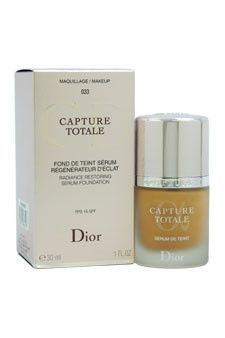 Capture Totale Radiance Restoring Serum Foundation SPF15 - #033 Beige Abricot Christian Dior 1 oz Foundation Women