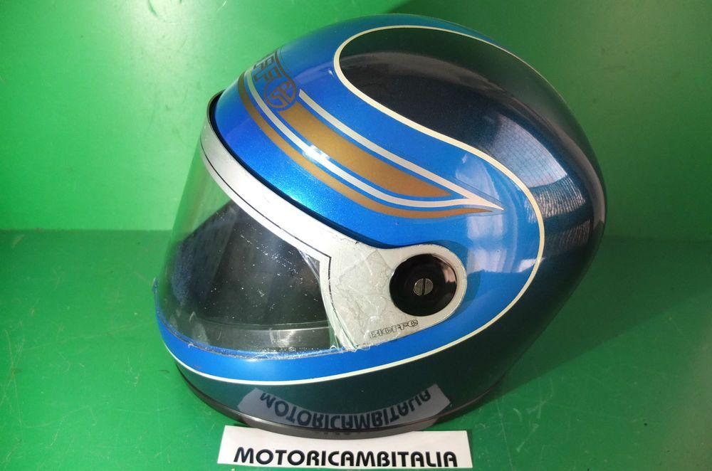 Bieffe Casco Vespa Lambretta Mods Custom Vintage Helmet Helm Integral Bike