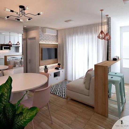27 Desain Inspiratif Ruang Tv Minimalis Modern Ide Dekorasi Rumah Dekorasi Apartemen Home Deco
