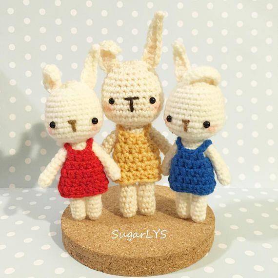 Crochet Pattern Cute Little Bunny Amigurumi By Sugarlys Amigurumi