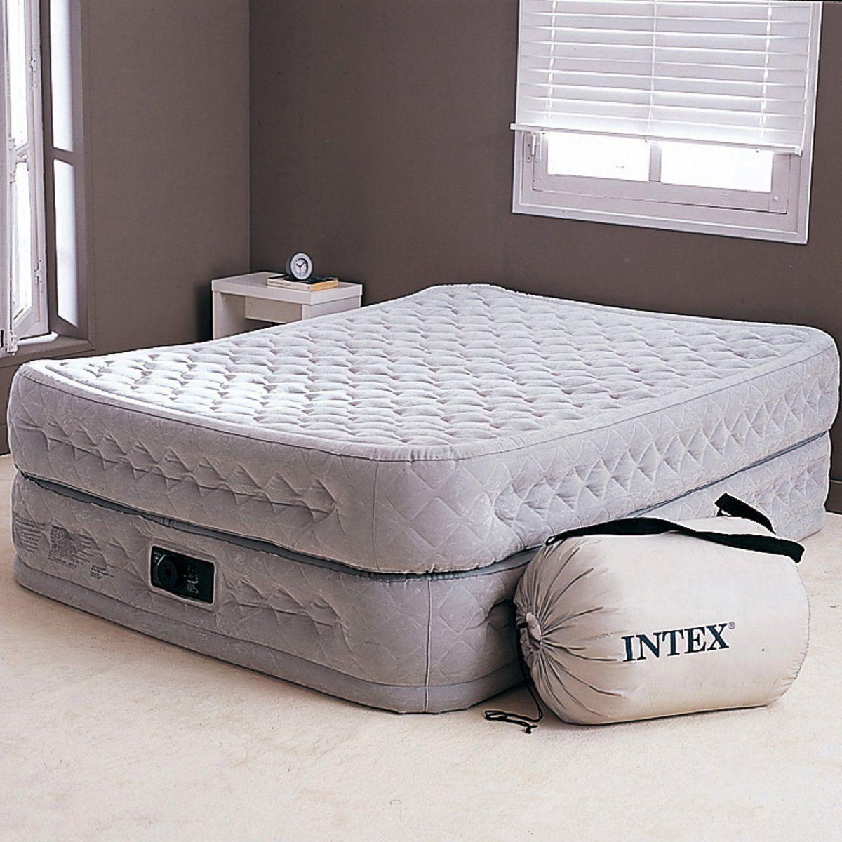 Lit Gonflable Confort Supreme 2 Personnes Autre Intex Lit Gonflable