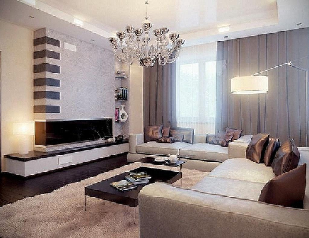 Awesome Contemporary Living Rooms Houzz   Living room modern ...
